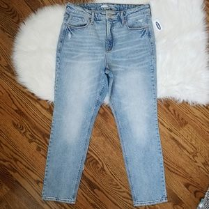 Old Navy Jeans - NEW power straight high rise waist jeans slimming